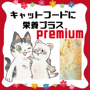 画像1: (premiumバージョン)【フェレットにキャットフードをお使いの方】キャットフードにかけて栄養プラス